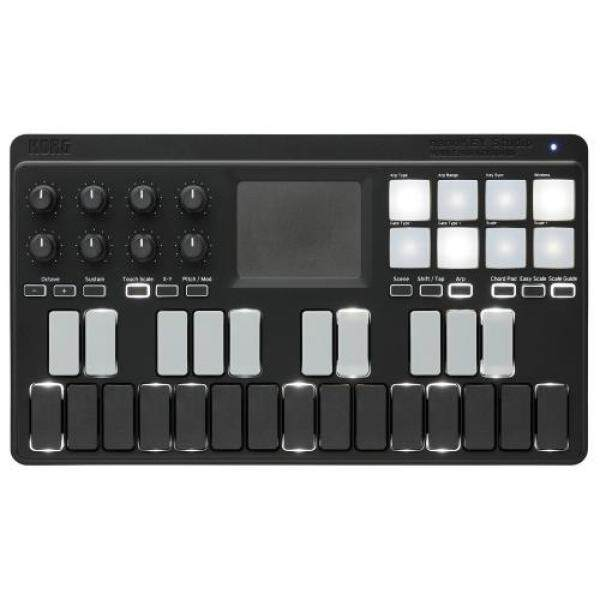 KORG Classic USB/Wireless All-in-One Mobile MIDI Keyboard nanoKEY Studio Music Production DTM A4 size Compact design, ideal for carrying around 25 keys including software license to start immediately Malaysia