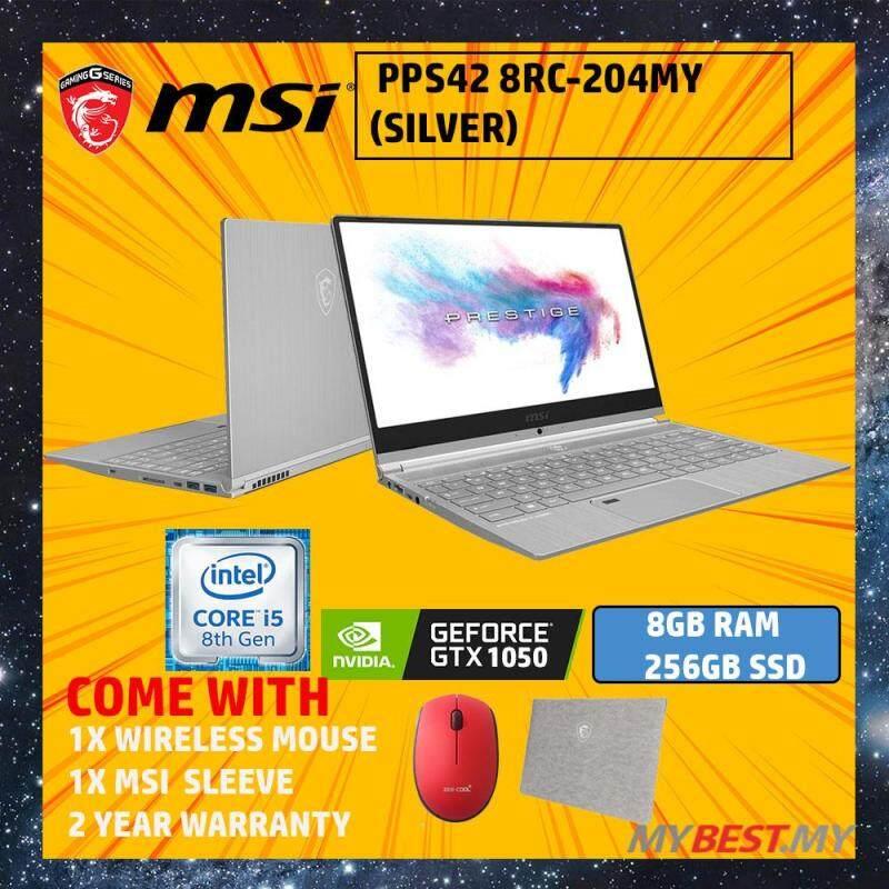 MSI PS42 Modern 8RC-204MY 14  Laptop (i5-8250U, 8GB, 256GB, NV GTX1050, W10H) Malaysia