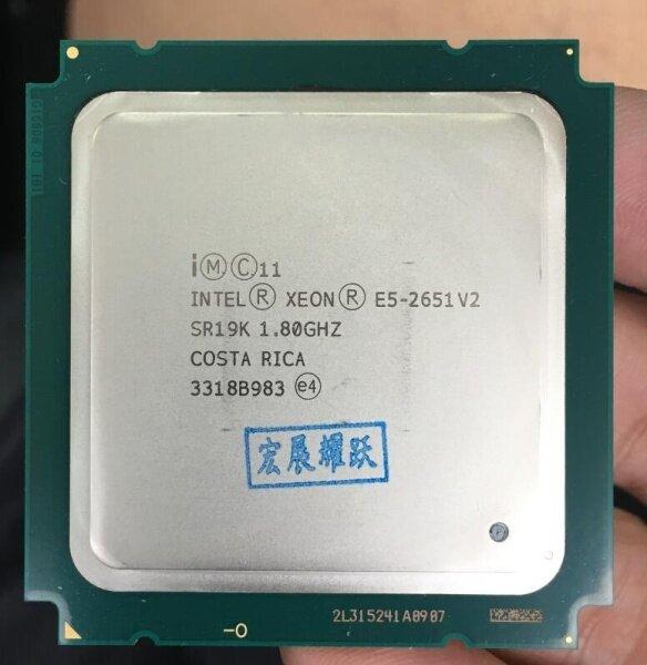 Bảng giá Xeon Processor E5-2651 V2 E5 2651 V2 CPU 1.8 LGA 2011 SR19K Twelve Cores Desktop processor e5 2651V2 100% normal work Phong Vũ
