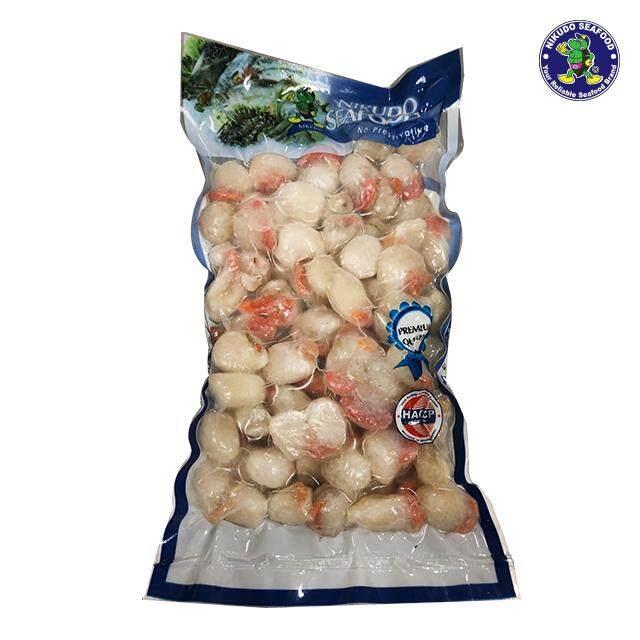(KL & Selangor Delivery Only) Nikudo - Sabah Scallop Meat Size M (40 -  60Pcs/LB) (500g/Pkt)