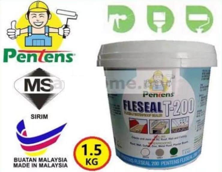 1.5kg Pentens Fleseal T200 waterproof sealer (White)