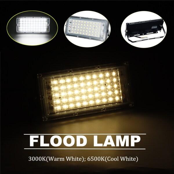 Bảng giá Đèn Pha LED Điều Chỉnh Được 3000K/6500K, Đèn Rọi Ngoài Trời Chống Nước 50W Trang Trí Đèn Sân Vườn