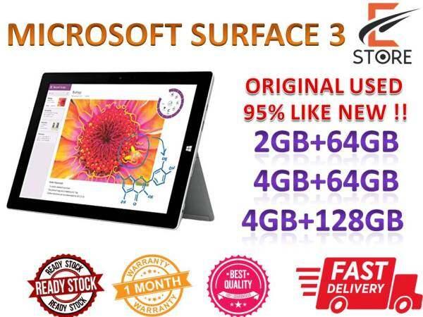 Windows Microsoft Surface 3 Secondhand 95% like new Malaysia