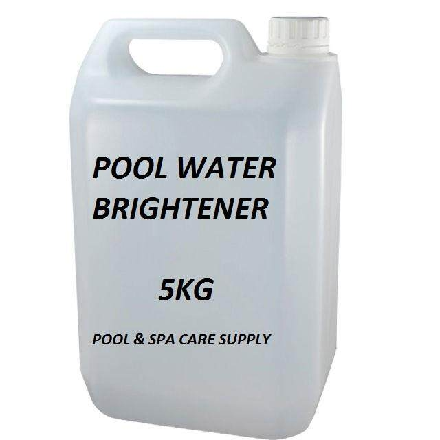 Water Brightener for Swimming Pools - 5Kg/Bottle