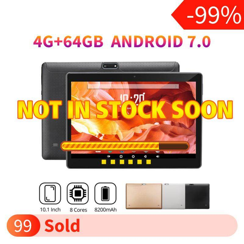 【Free Shipping + Super Deal + Limited Offer】Nimbler NEW HOT SALE 10 1''  4G+64GB Android 7 0 HD IPS Tablet PC Octa 8 Core WIFI Bluetooth 2 SIM 4G