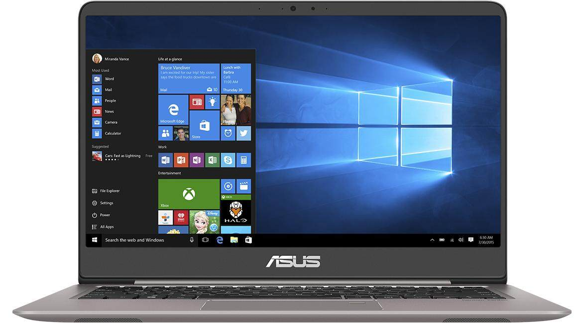Asus Zenbook UX410U-QGV029T Quartz Grey 14.0 Full HD Laptop Malaysia