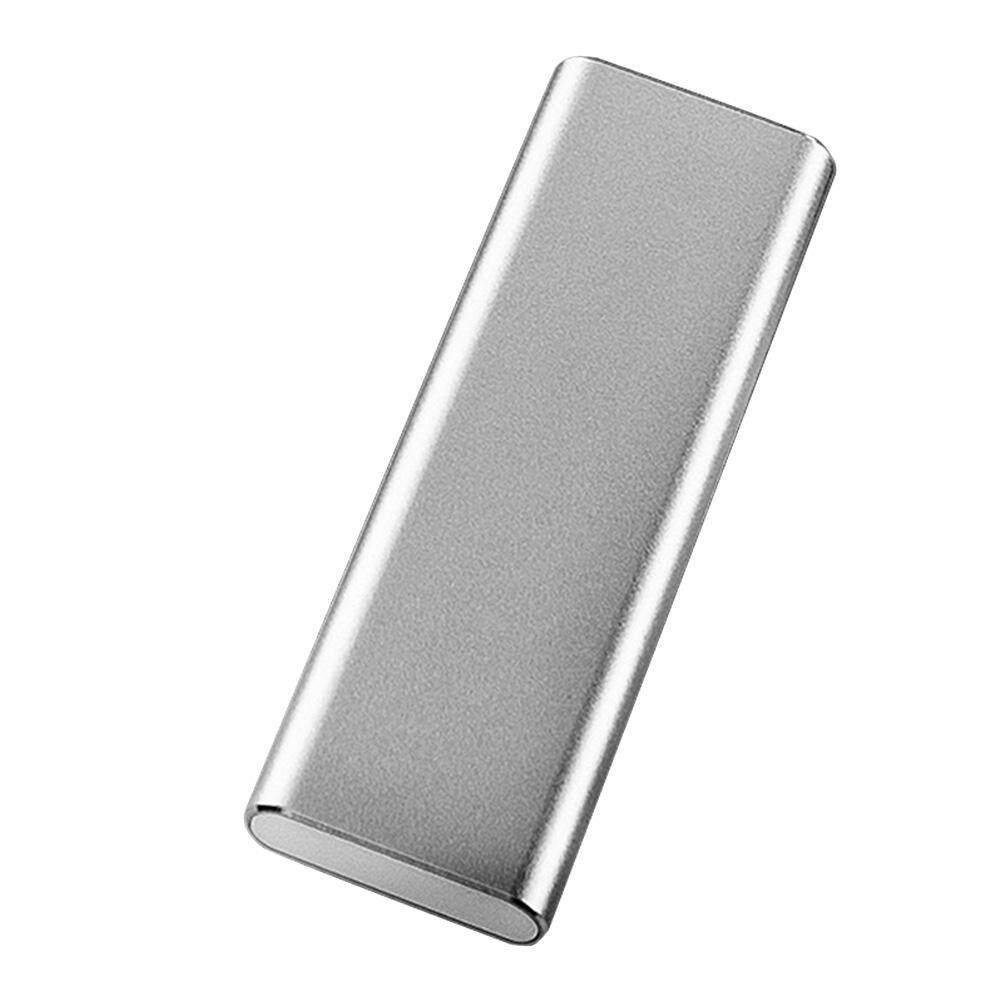Silver NVME Enclosure M KEY TO TYPE-C USB 3.1 GEN2 EXTERNAL ADAPTER CASE