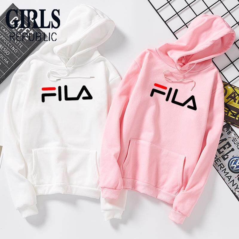 23593b8f67ce Girls Republic Women's clothes sweater suit casual fashion sports running  men and women hooded jacket