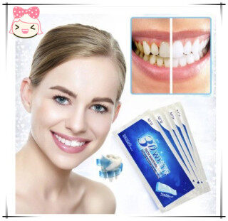 Ubetter hàng Có Sẵn 14 Chiếc 7 Cặp Miếng Dán Răng 3D Bộ Gel Trắng Tẩy Vết Bẩn Vệ Sinh Răng Miệng thumbnail