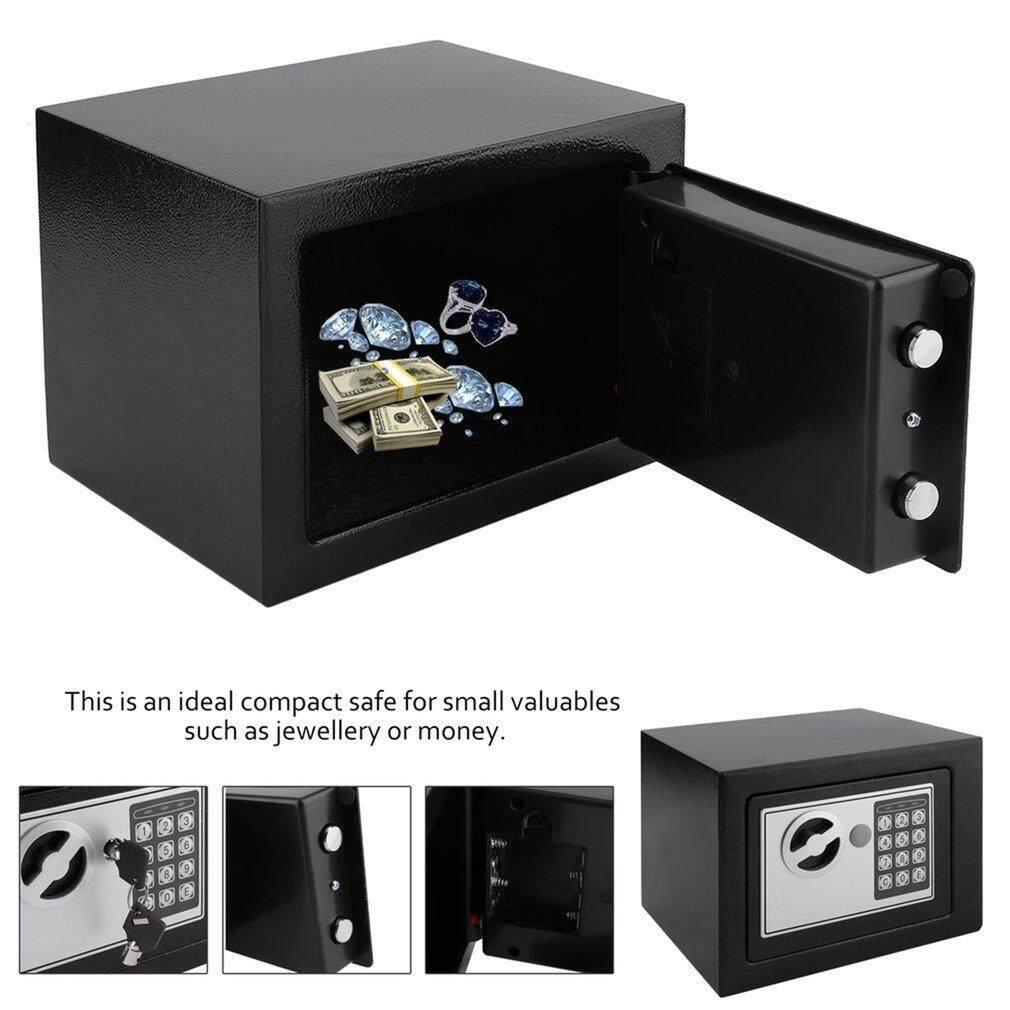 Hot Bán Hàng Điện Tử An Toàn Hộp Với Kỹ Thuật Số Khóa Bàn Phím 4.6L Mini Trang Sức Lưu Trữ Ốp Lưng