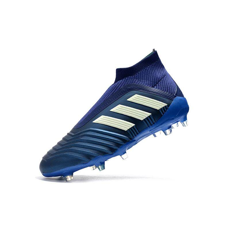 2019 New Arrival Soccer Shoes Falcon No Shoelaces Slip-On Knitting  Waterproof Predator 18+ 9a4d0c8d7