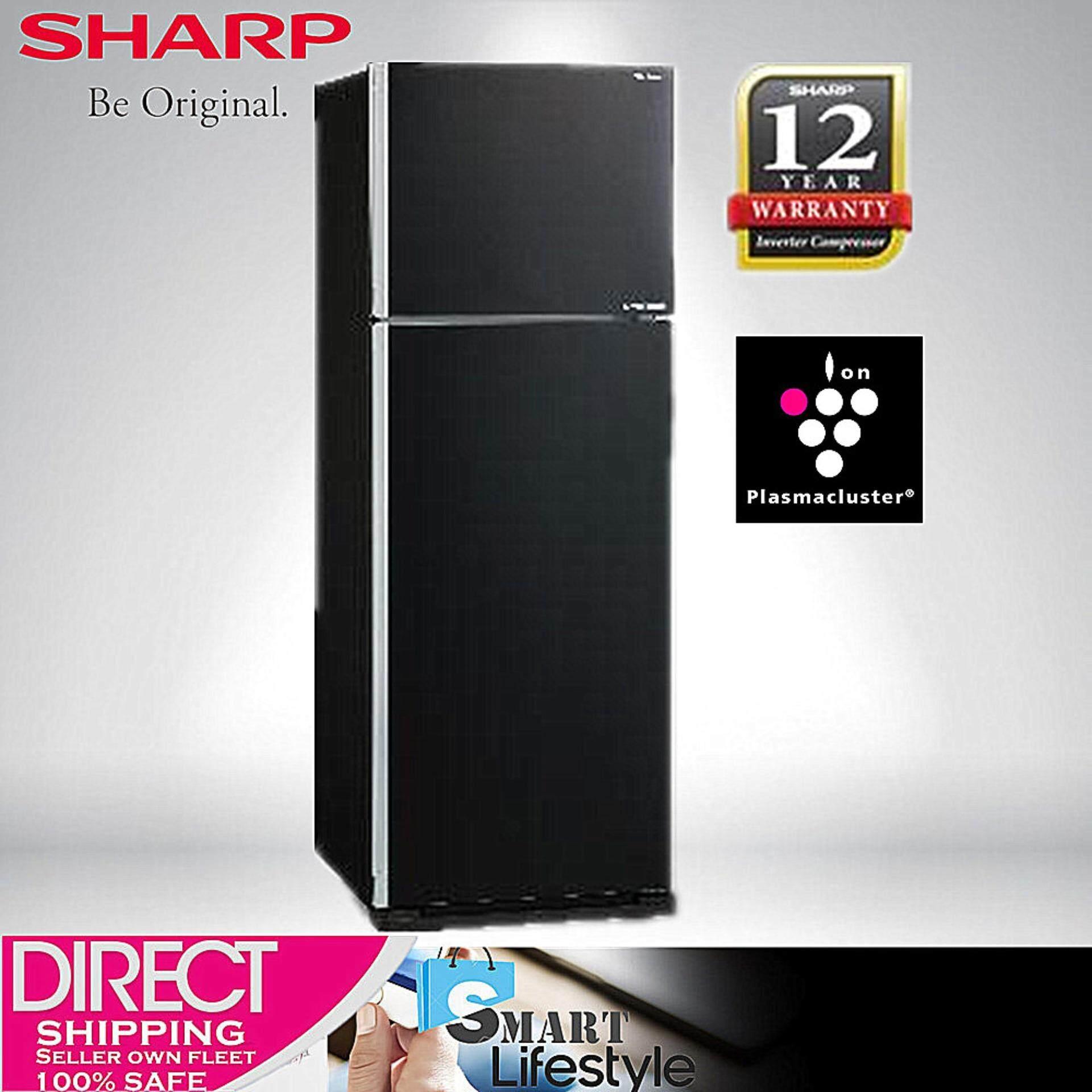 Sharp Pelican Refrigerator SJE538MK 480L 2 DOOR