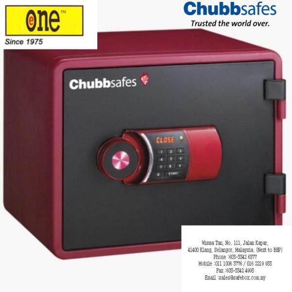 Chubbsafes : Fire Resistant Safe Box E35 (Elements Series OPAL 4112) Home and Office Security Safebox c/w Overidding Key