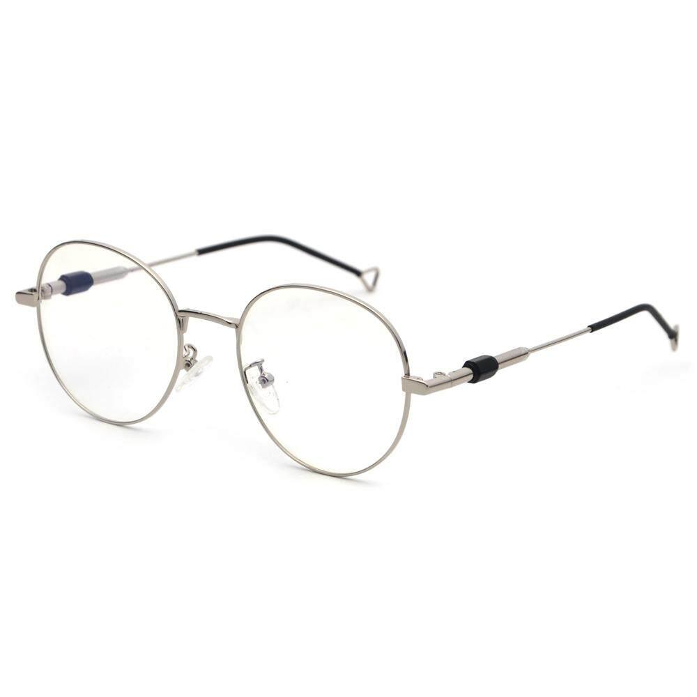 Pria Bulat Kacamata Retro 2019 Clear Bingkai Logam Lensa Kacamata Optik  Frame Kualitas Tinggi Unisex Gold d4b78c6c3a