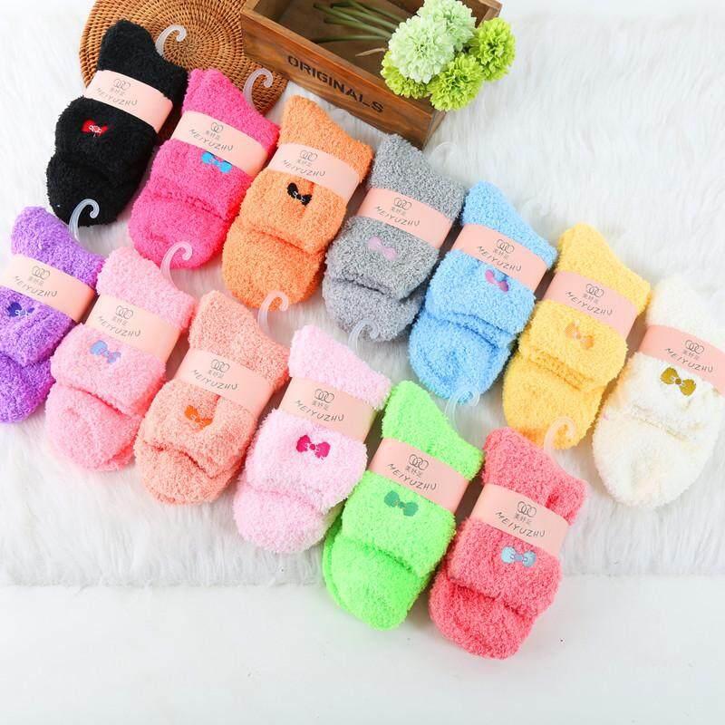 Combo 3 Pasang Stokin Pantang Confinement Socks Fur Socks Fur Plain By Myheart Shoppe.