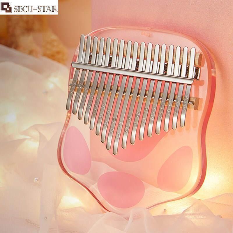 SECU-STAR VBH Kalimba 17 Key Thumb Piano Acrylic Crystal 21 Key Transparent Finger Piano Musical instrument Malaysia