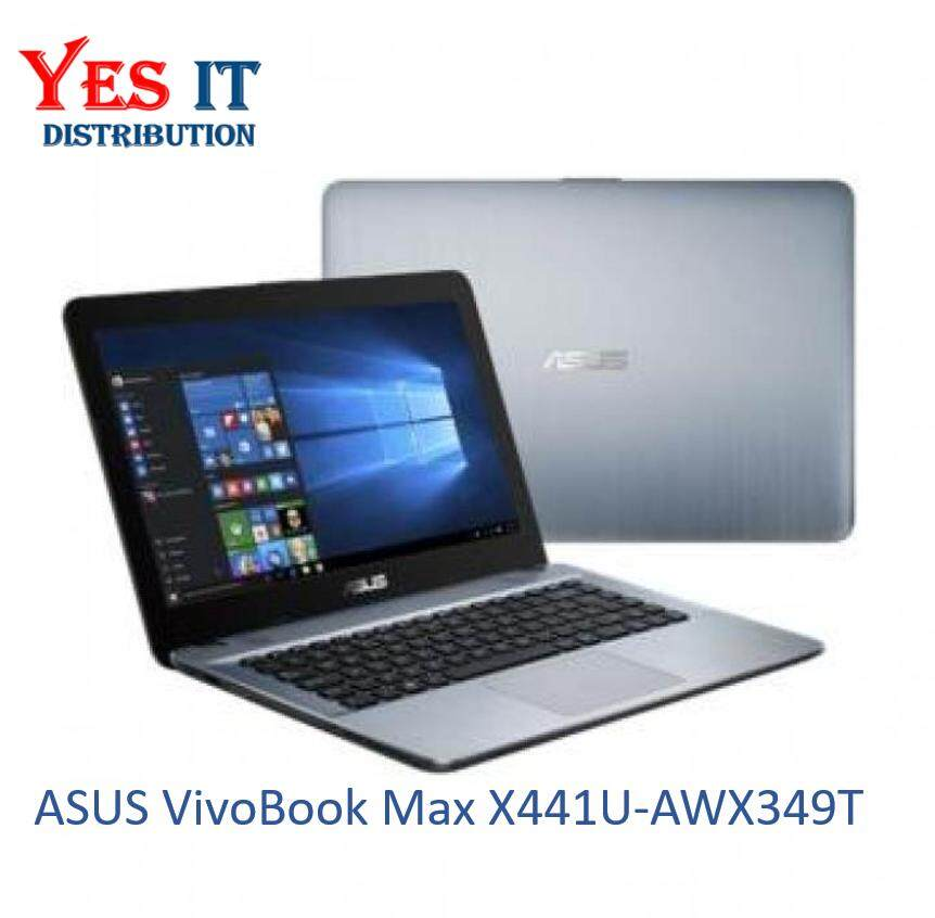 ASUS VivoBook Max X441U-AWX349T (I3-6006U/1TB HDD/Intel Graphic/4GB Ram/Windows 10 Home)__[ X441U-AWX349T] Malaysia