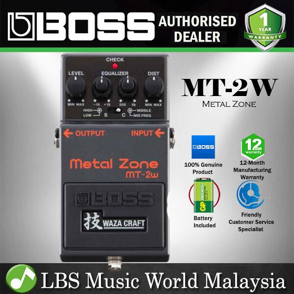 Boss MT-2W Metal Zone Waza Guitar Effect Pedal Foot Switch Processor (MT2W MT 2W) Malaysia
