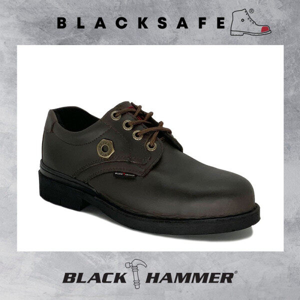 Black Hammer Men 4000 Series Low cut with Shoelace Safety Shoes BH4658