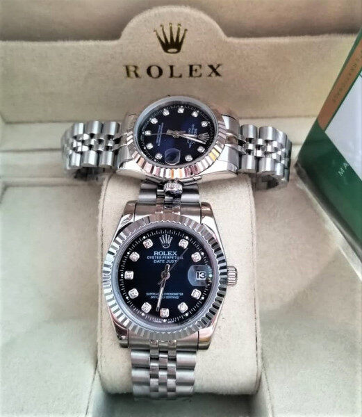34mm-38mm Couple Rolex_Automatic Full Set Unique Heritage Design With Genuine Gift Box Fast Shipping Service Ready Stock Malaysia