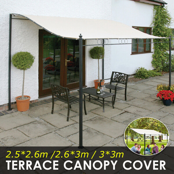 Sun Sail Shade Awnings Canopy Garden Sun Cover Waterproof Patio Sunscreen Large