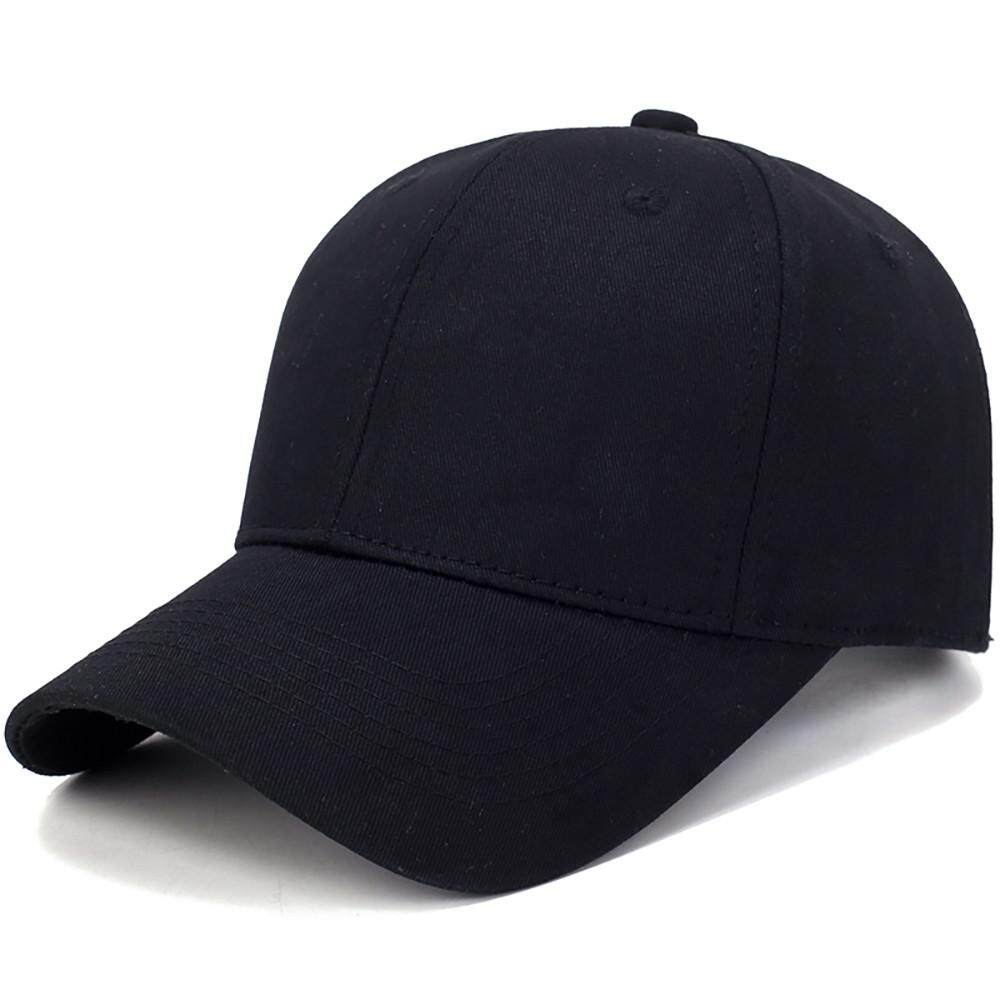 6b64255b939aa Fashion Summer Hat Cotton Light Board Solid Color Baseball Cap Men Cap  Outdoor Sun Hat