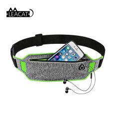 Leacat Chuyên Nghiệp Chạy Thắt Lưng Túi Thắt Lưng Thể Thao Thắt Lưng Điện Thoại Di Động Đàn Ông Phụ Nữ Có Túi Ẩn Túi Tập Thể Dục Chạy Thắt Lưng Gói Phù Hợp Với iPhone 6.5Inch