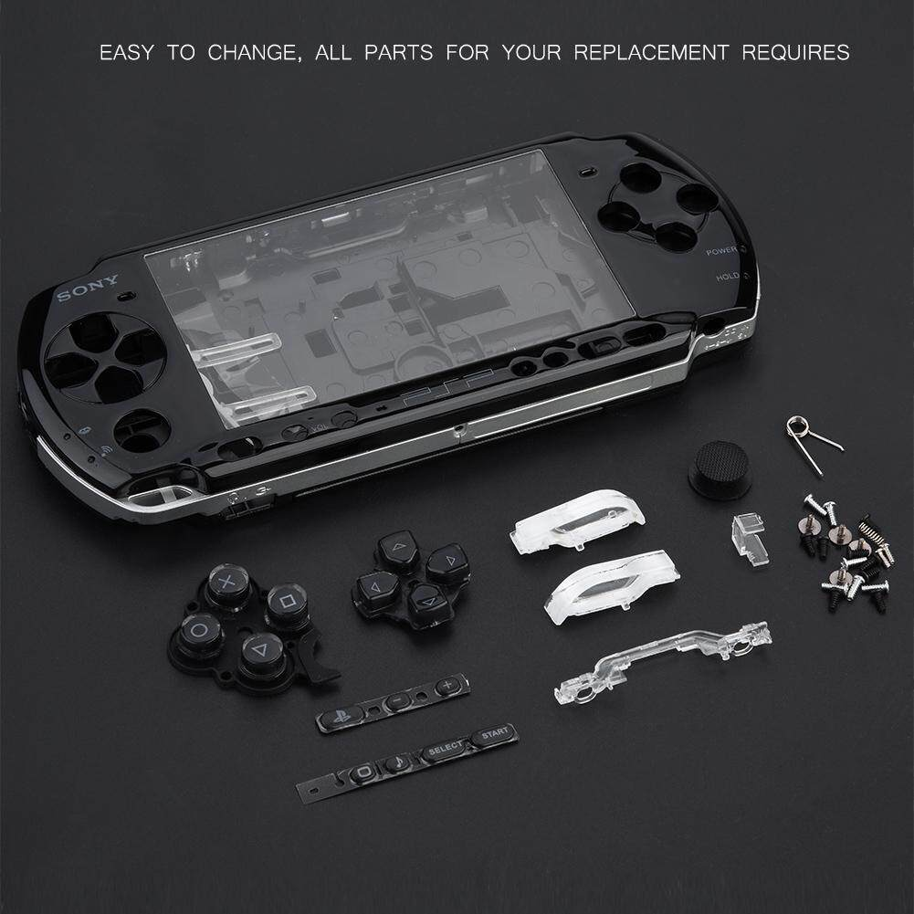 Replacement Full Housing Console Game Shell Case Cover Repair Parts For PSP  3000