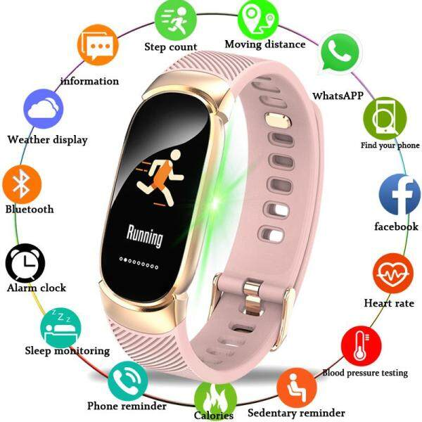 LIGE New Watches For Women Sport Smart Watch Waterproof Smart Watch Heart Rate Blood Pressure Pedometer Smart Jam For Android iOS Malaysia