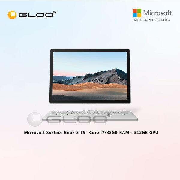 Microsoft Surface Book 3 15 Core i7/32GB RAM - 512GB GPU - SMN-00017 Malaysia