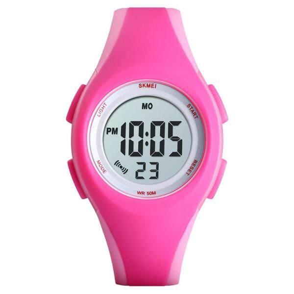 Nơi bán Đồng hồ đeo tay SKMEI 1459 dạ quang trẻ em kỹ thuật số chống nước 5ATM Đồng hồ thể thao báo thức lịch tuần ngày giờ đồng hồ đeo tay cho thiếu niên với Dây đeo PU