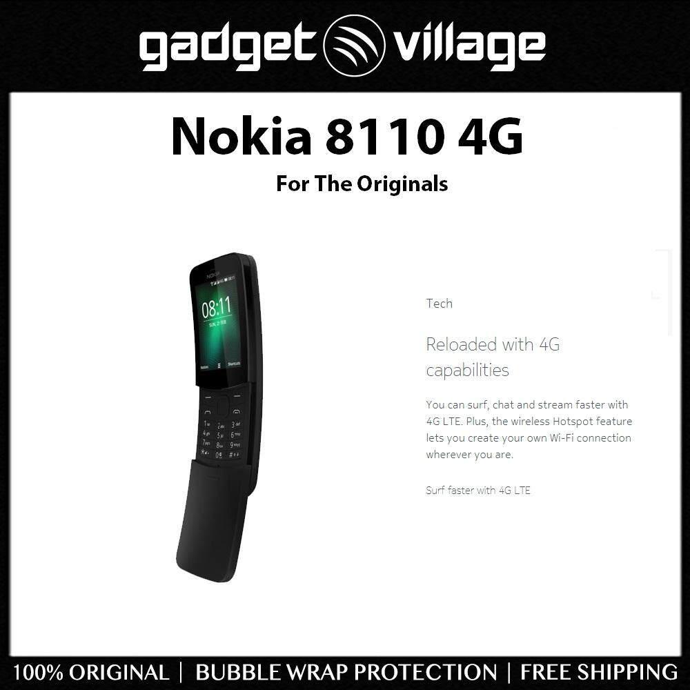 Nokia 8110 4gb ROM / 512mb RAM - Official Nokia Malaysia Warranty