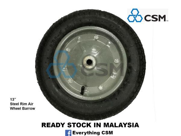 [CSM] Steel Rim Air Wheel Barrow