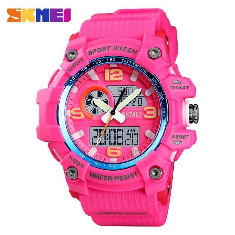 SKMEI New Women Sports Watches Large Dial Fashion Watch Alarm Countdown Waterproof Digital Wristwatches 1436 Malaysia