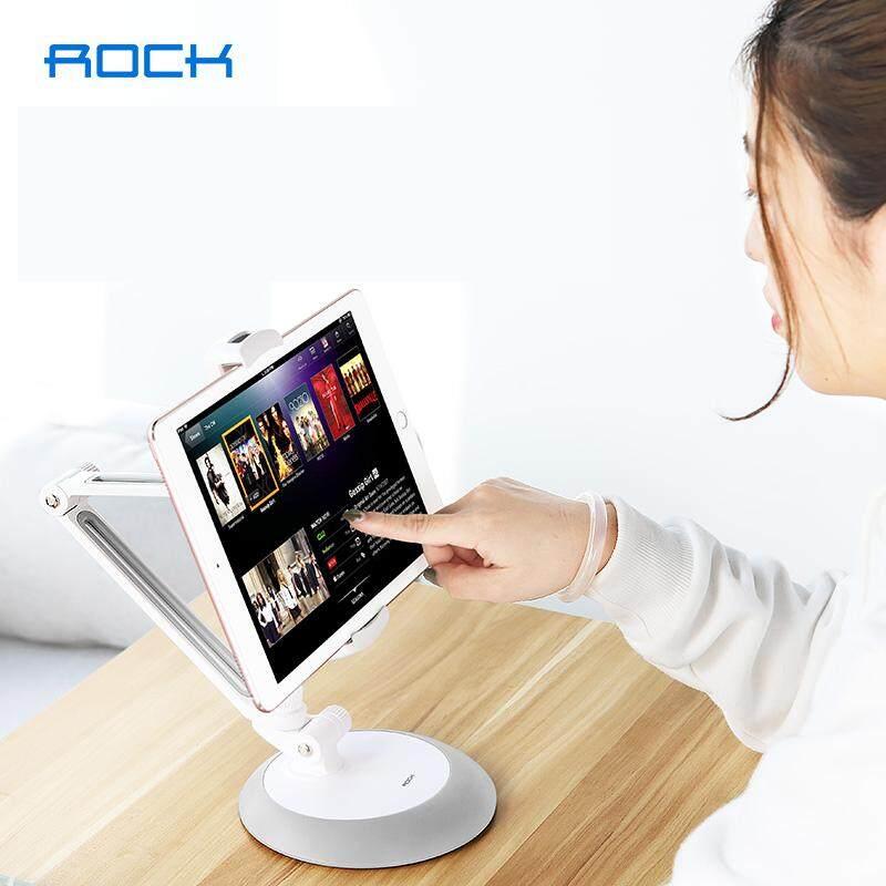 Rock Desk Tablet Stands Mount Support Mobile Phone Holder Fit For 4-11 Inch Width Metal Bracket.