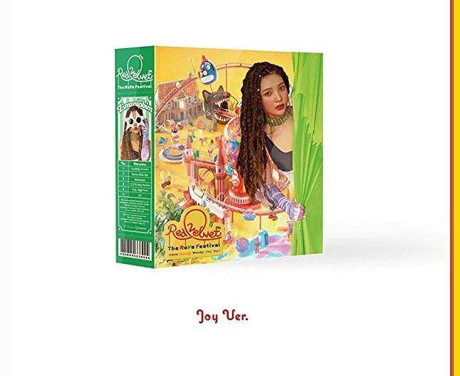 [Joy cover] Red Velvet - (Zimzalabim) [Day 1 Ver.] The Reve Festival' Day 1 (Mini Album) CD+Photobook+Folded Poster+Store gift photocard - kpop