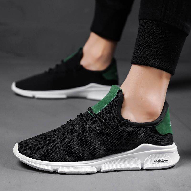 MENS SLIP ON MESH FASHION SNEAKERS SUMMER BREAHABLE CASUAL SHOES ATHLETIC SHOES