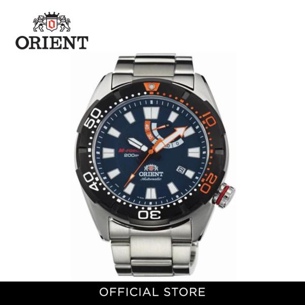 Orient Men Watch Mechanical Sports Metal Strap Watch ORSEL0A002D Malaysia