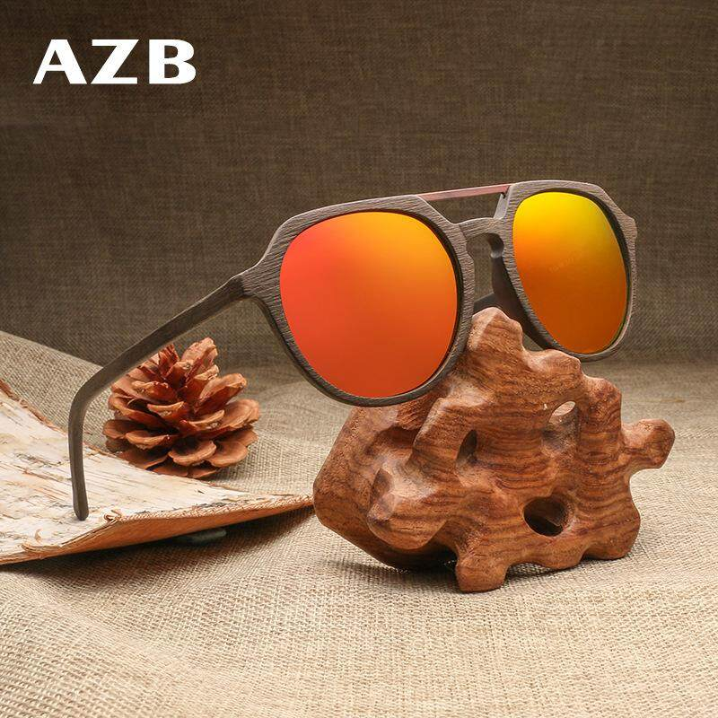 3b3af82a7dc AZB brand fashion bright men s polarized sunglasses Europe and America  plate pilot 蛤蟆 sunglasses BC07