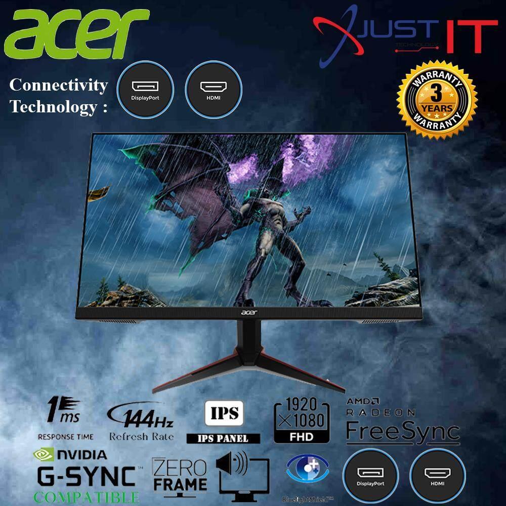ACER VG240YP / VG240Y P 24  IPS 1MS 144HZ FHD AMD FREESYNC / G-SYNC COMPATIBLE GAMING MONITOR Malaysia
