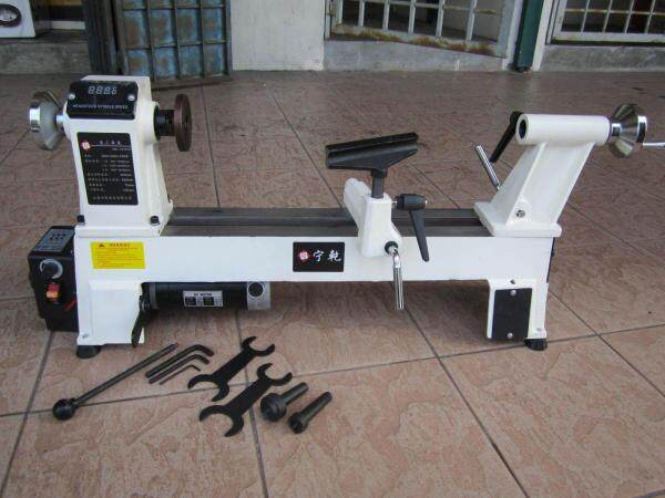 MY Professional (1.0HP) 12 x 18 Variable Speed Wood Lathe Machine