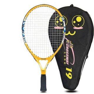 Bộ Vợt Tennis Trẻ Em Vợt Trẻ Em 9 21 23 Inch Gậy Carbon Siêu Nhẹ Cho Trẻ Tập Đi 0-12 Năm thumbnail
