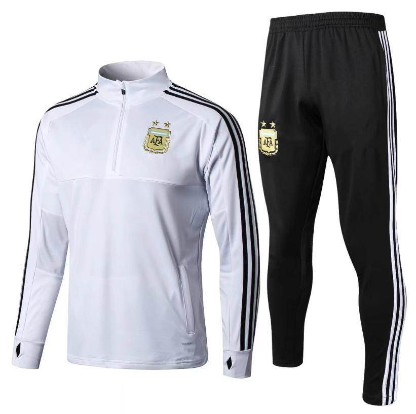 Top Quality Argentina National Team Long Sleeve Jersey T-shirt and Pants Suit