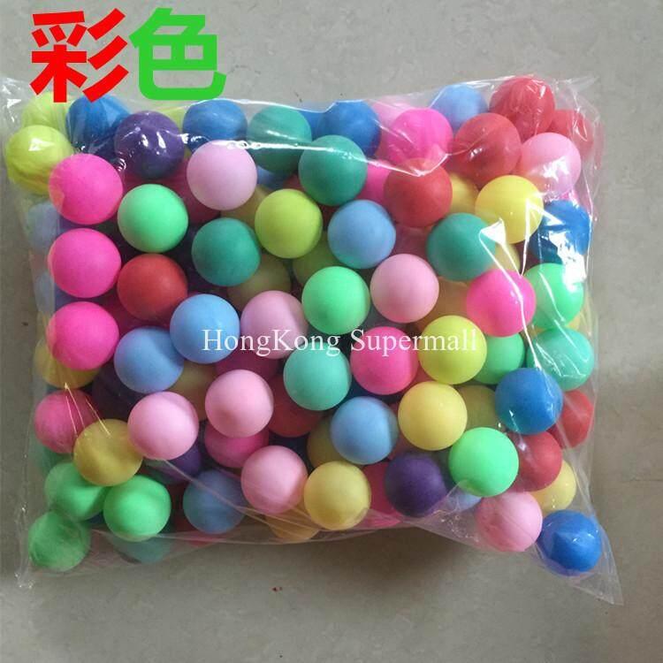 ฮ่องกง Supermall 40 มม. สีลายกีฬาปิงปอง Touch ลูกปิงปอง Lottery Ball Entertainment ลูกบอลพ่นน้ำเครื่อง Ball Matte ไม่มีรอยต่อแข็งสนามเด็กเล่นฟรีของขวัญ: 2 ปากกา By Hongkong Supermall.
