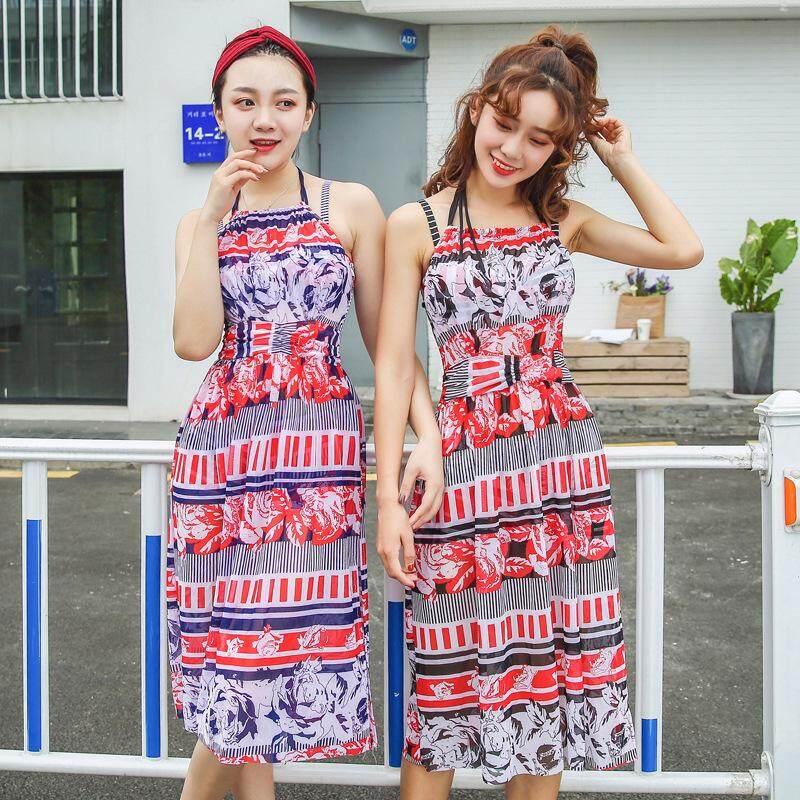 Chia 3 Mảnh Bikini, Hàn Quốc Nhỏ Thơm Gió Ngực Nhỏ Tập Hợp Bảo Thủ Gợi Cảm Che Bụng Được Mỏng & Spa Đồ Bơi Nữ By Wellsunny.