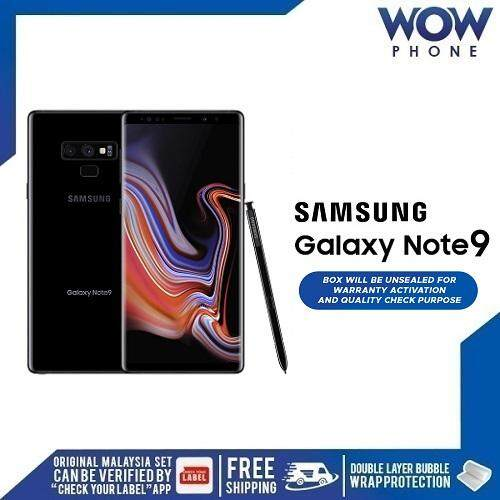 SAMSUNG GALAXY NOTE 9 (8GB RAM + 512GB ROM) MALAYSIA SET!! 1 YEAR WARRANTY  BY SAMSUNG MALAYSIA!! EXCLUSIVE FREEBIES ONLY ON WOWPHONE!!