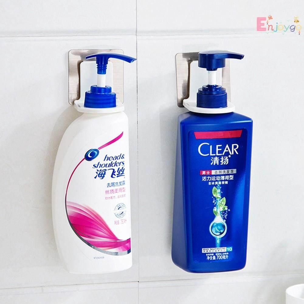 Rustproof Bathroom Wall Mounted Magic Sticky Shampoo Organizer Hook