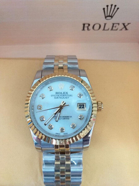 R0lex_Watch for men Business Casual steel Dezel STEEL Strap 40mm Water Resistant Automatic Move Malaysia