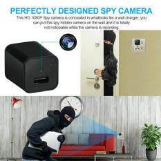 Camera Sạc Mini USB 1080P Bộ Chuyển Đổi Sạc Tường Ẩn Chuyển Động FULL HD USA