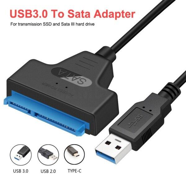 Bảng giá Cáp USB 3.0 Bộ Chuyển Đổi SATA 2.5 Inch SATA Sang USB 3.0 22 Pin 7 + 15 HDD/SSD Hỗ Trợ UASP Serial ATA III Tương Thích Với Ổ Cứng 2.5 SATA Phong Vũ